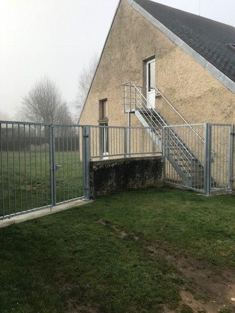 Fabrication escalier et grille d'une mairie