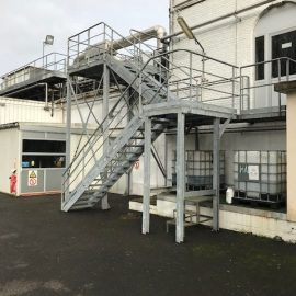 fabricant passerelle et escalier galvaniser