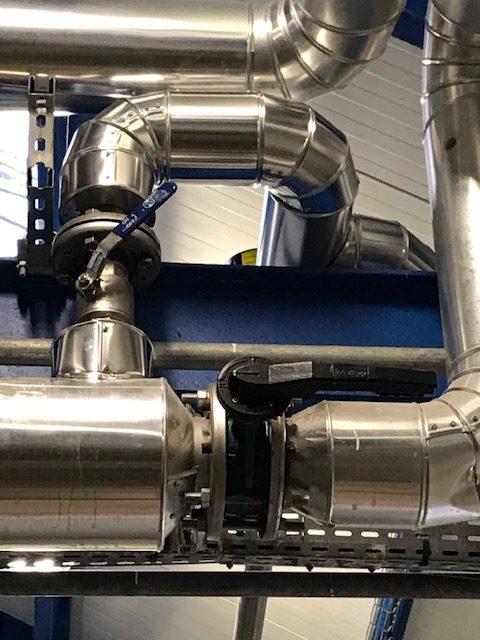Tuyauterie industriel et calorifuge